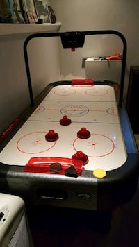 white, red and black ice hockey table Bowmanville, L1C 4T7