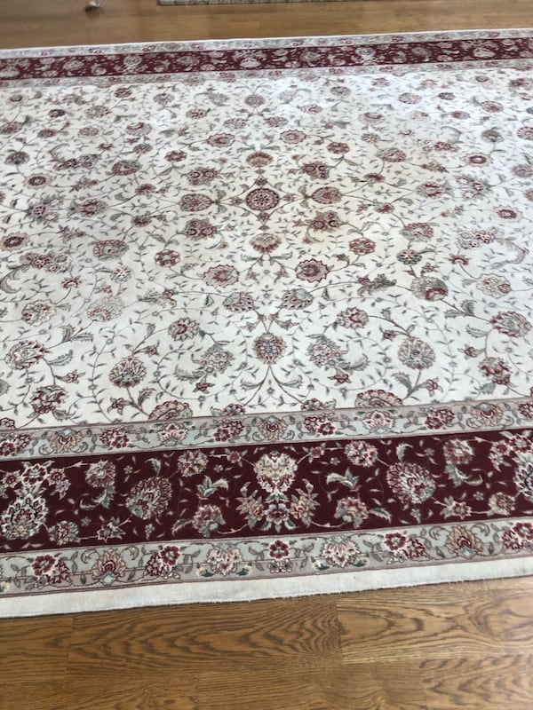 Authentic Silk Persian Rug purchased ABC Carpet in NYC 8f87ab89-19a7-40d1-921a-a694d09f2f2a
