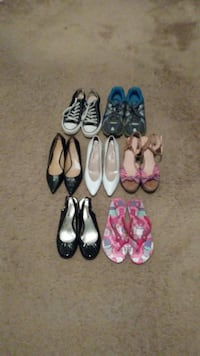 four pairs of assorted shoes Carlisle