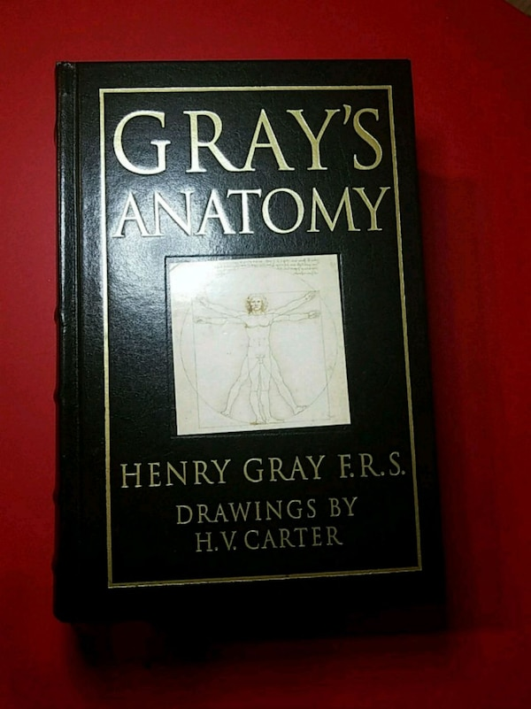 Gray's Anatomy by Henry Gray F.R.S.