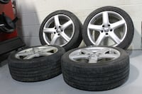 "17"" Volkswagen rims + good year  Eagle Sport 55% Chicago"