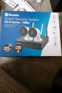 swan security camera's