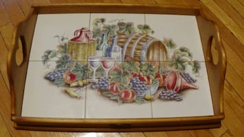 BOTTLEBRUSH Collection serving tray