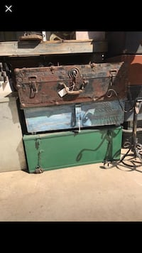 Vintage trunks and one blue rustic chest  Fresno, 93722