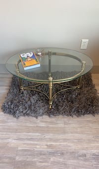 Super Cute Vintage Brass Cocktail Table Portland, 97209