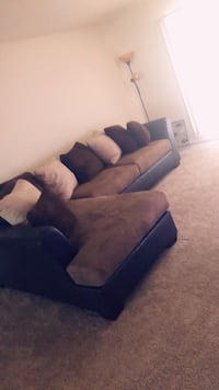 Brown suede sofa set (Two Piece Set) Arlington, 22202