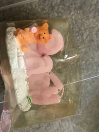 Baby's white and pink baby shower decorations College Park, 20740