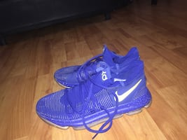 KD 10 Blue and Yellow (NBA Finals)