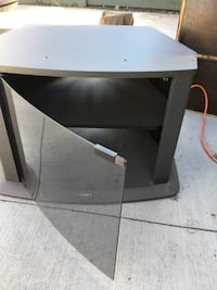 black wooden TV stand Edmonton, T5T