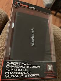 6 port wall charging station Laval, H7N 6E9