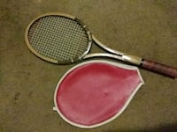 two red and gray tennis rackets Columbus, 43204
