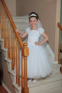 Christie Helene Couture Communion Dress with Tiara Freehold, 07728
