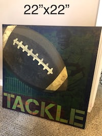 Football canvas  Columbia, 62236