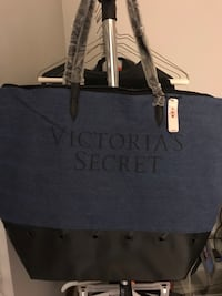 New Victoria Secret Blue jean tote bag