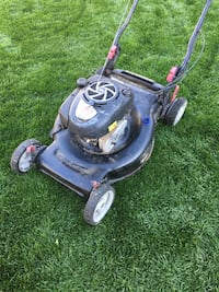 black and gray push mower Portsmouth, 23707