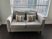 Grey Loveseat - Perfect for Condo / Small Space Living Toronto