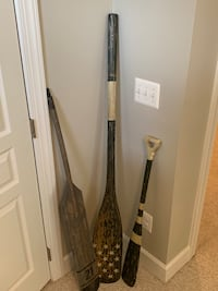Pottery Barn set of 3 Oars