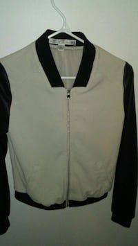 white and black zip-up jacket Winnipeg, R3A 1K9
