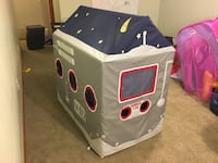 Space-themed Gray red and blue playhouse Shakopee, 55379
