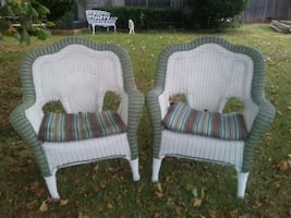 Weather proof Wicker chairs