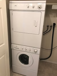Washer and Drier stackable or side by side