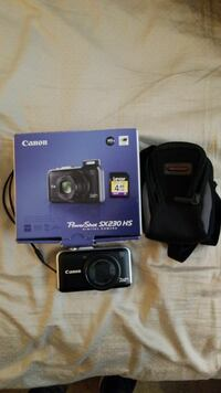 New Canon PowerShot SX230 with 4GB Memory Card Herndon, 20171