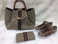 monogrammed brown Gucci leather tote bag Calgary, T3R 0X4