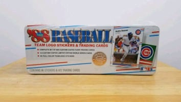 1988 Fleer Baseball Factory Sealed Glossy Complete Set Tin Brand New