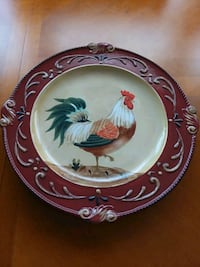 Large Rooster Platter  Chesapeake, 23325