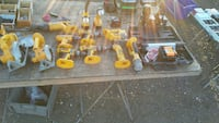 yellow and black DeWalt assorted power drills Glen Burnie, 21060