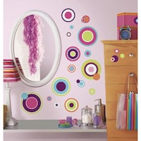 ROOM MATES PEEL AND STICK WALL DECALS , RE POSITIONAL, WASHABLE OTTAWA
