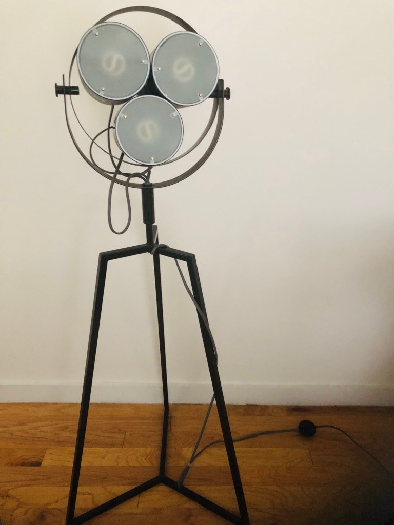 used cb2 crate and barrel signal floor lamp cfl for sale in new rh tr letgo com