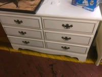 white wooden 6-drawer lowboy dresser Wareham, 02538