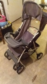 baby's gray and black stroller Russellville, 37860