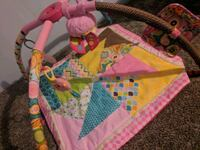 baby's pink and yellow activity gym Killingly, 06239
