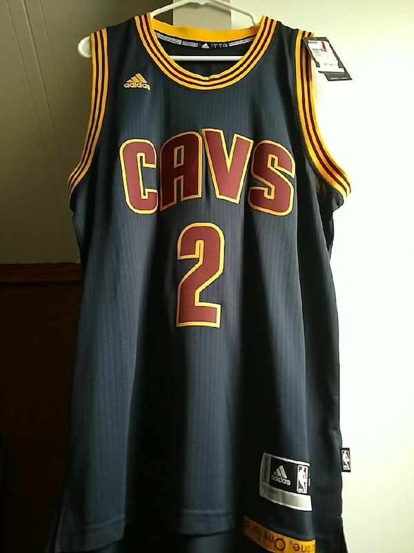0cddc8fed Used Kyrie Irving  throwback Cavaliers Jersey for sale in Cincinnati ...