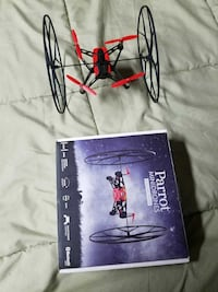Black and red quadcopter 58 mi