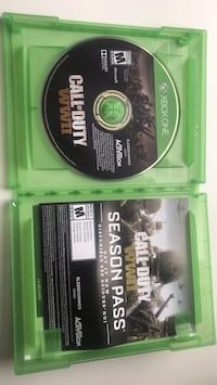 Call of Duty Black Ops Xbox 360 game disc Winnipeg, R3M 1S4