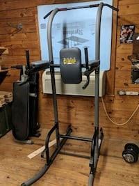 gray Body Champ power rack