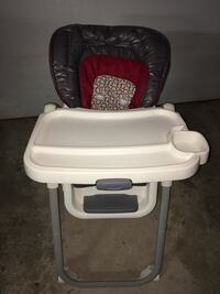 Baby's black and white high chair Carol Stream