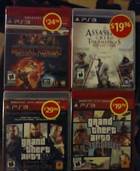 4-Brand new still in wrapping PS3 video games  Winnipeg, R3C 1Y9