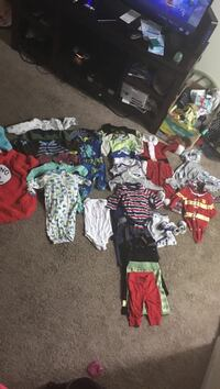 Toddler's assorted apparels