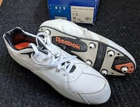 Reebok Vicious Leather Low size 14 cleats INDIANAPOLIS