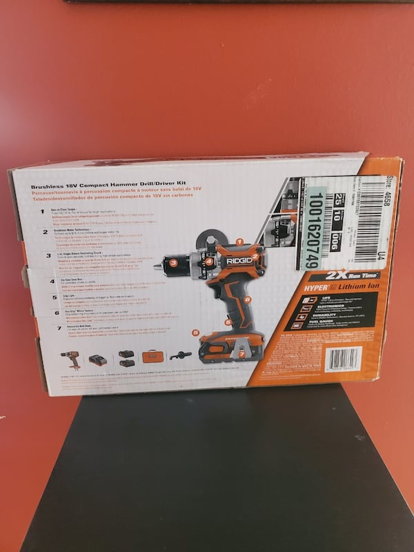 RIDGID 18-Volt Lithium-Ion Cordless Brushless 1/2 in. Compact Hammer D 5aecb4f4-dab0-4140-bf63-647bf192f399