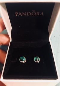 PANDORA May birth stone earrings Ottawa, K1N 6E7