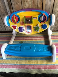 yellow and blue Fisher-Price learning toy Toronto, M6S 4M5
