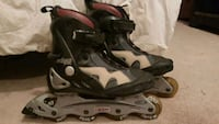 gray-and-black Eclipse inline skates Calgary, T1Y 3Z4
