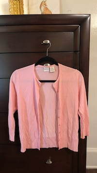 Pink Cardigan Sweater  Paso Robles, 93446