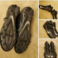 Black Nike Footbal Cleats Size 15 Catonsville, 21228