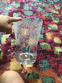 "Glass vase 10"" Alexandria, 22310"